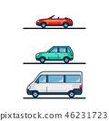 Set of cars 46231723