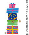 stacked gift boxes 46232030