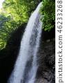 雷滝瀑布 瀑布 负离子 46233268