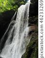 雷滝瀑布 瀑布 负离子 46233269