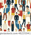 pattern, people, walking 46235941