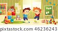 kindergarten toy boy 46236243