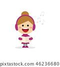 christmas, girl, carol 46236680