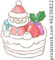 เค้กคริสต์มาส 46236822