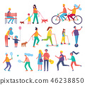 vector illustration family 46238850