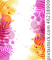 watercolor splash abstract 46238909
