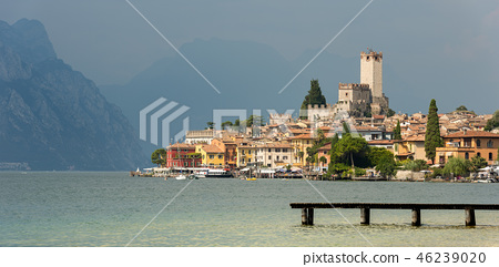 Malcesine Town - Lake Garda - Veneto Italy 46239020