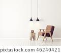 armchair interior room 46240421