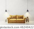 sofa interior room 46240422
