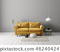 sofa interior room 46240424