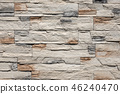 wall, stones, background 46240470