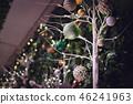Christmas decoration on nature theme 46241963