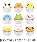 動物蛋糕 46242309