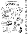 School 3 -Line Drawing Collection- 46243180