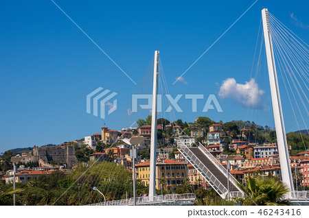 Bascule Bridge of Thaon di Revel - La Spezia Italy 46243416