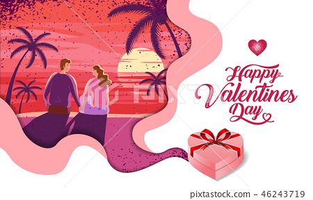 Lovely couple ,Valentine's day ,festival 46243719
