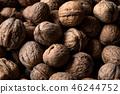 tasty walnuts background 46244752