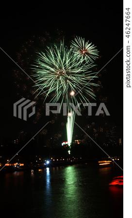 Tenjin festival fireworks 46247664