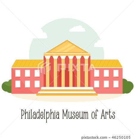 Phyladelphiaa museum of art, famous landmark 46250105
