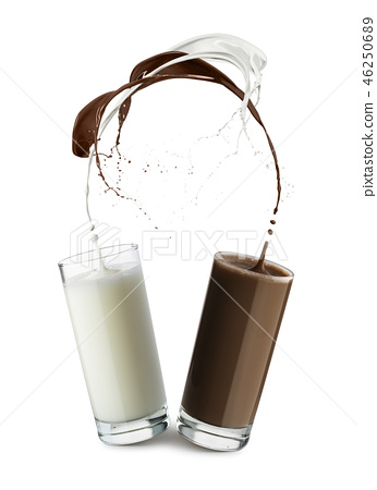 milk and chocolate 46250689