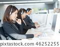 Operator, call center, suit, staff 46252255