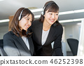 Operator, call center, suit, staff 46252398
