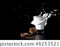 cookie, milk, food 46253521