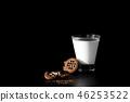 cookie, milk, food 46253522