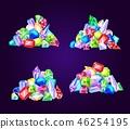 寶石 珠寶 向量 46254195