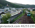 Shikoku and Tokushima Prefecture Sanuki Line's ordinary train and Yakuoji 46255199