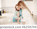 daughter, mother, child 46256744