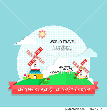 荷蘭世界旅行插畫家 46257046