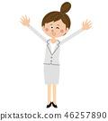 여성, 여자, 비즈니스우먼 46257890