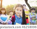 快乐 幸福 儿童 46258096