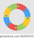 circle, graphic, infographic 46260435