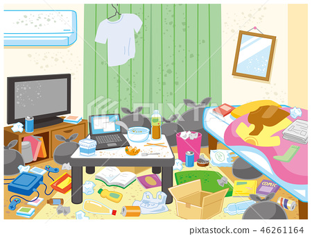 Dirty room 46261164