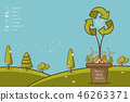 城市 绿色 生态 46263371