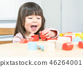 적목 놀이 소녀 46264001