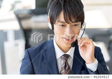 Operator, call center, suit, staff 46264917