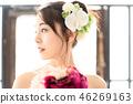 婚禮 新娘 成熟的女人 46269163