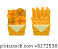 bread basket vector 46272536