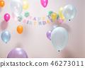 풍선, 생일, 보케 46273011