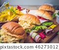 샌드위치, 롤 빵, 샌드 46273012