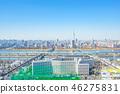【도쿄】 도시 풍경 46275831