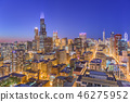 chicago, downtown, town 46275952
