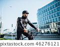 man, male, cyclist 46276121
