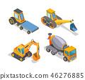 vector vehicle tractor 46276885