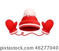hat mitten glove 46277040