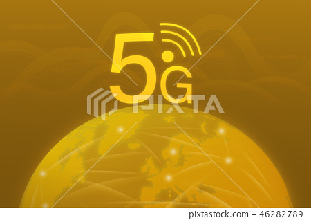 Business and finance - 5G network 46282789