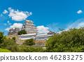 ปราสาทฮิเมจิ,ปราสาท,ฤดูร้อน 46283275